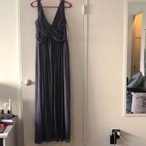 Slate Gray Bridesmaid dress